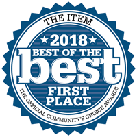 The Item - 2018 Best of the Best - First Place - The Official Community's Choice Awards